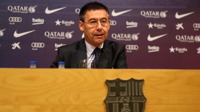 Barça Präsident Bartomeu über Samuel Umtiti Die