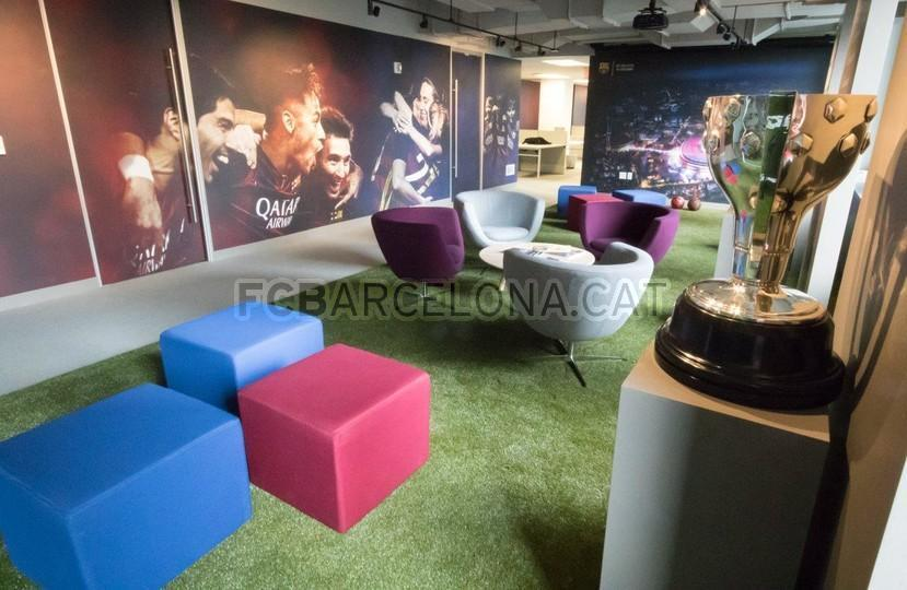 BarçaOffice in New York Katalanisches Flair in