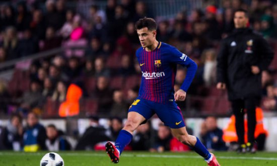 Coutinho in Aktion
