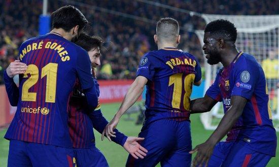 Lionel Messi machte mit dem 3 0 gegen den FC Chelsea endgültig den Aufstieg  perfekt f45ef0eb775
