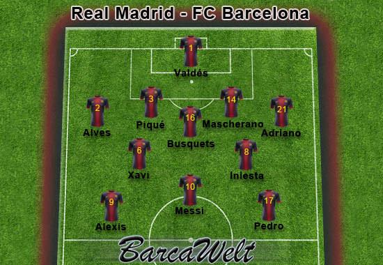 Real Madrid - FC Barcelona 29.08.2012