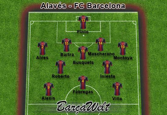 Alaves - FC Barcelona 30.10.2012