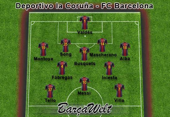 Deportivo de la Coruna - FC Barcelona