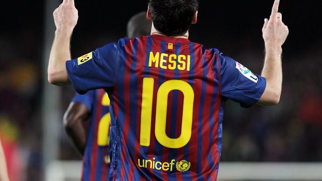 Messi mit 301 Pflichtspieltoren