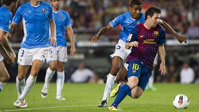 Messi auf den Spuren Müllers