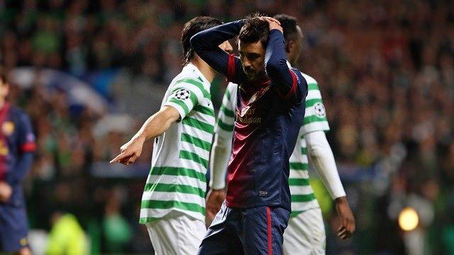 David Villa Celtic