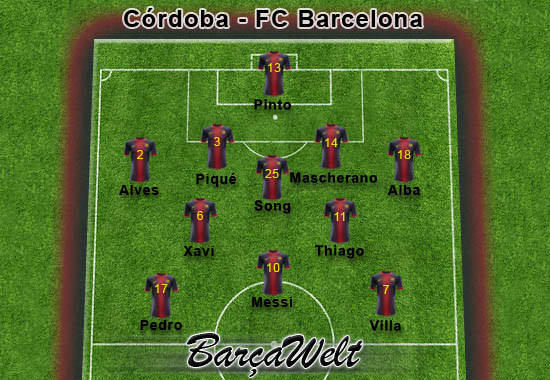 Cordoba - FC Barcelona 12.12.2012
