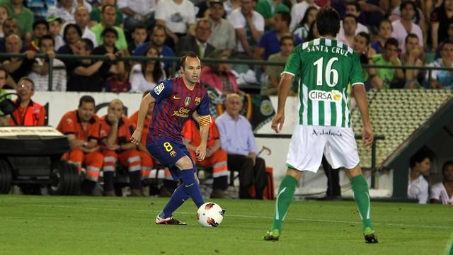Iniesta gegen Betis Sevilla