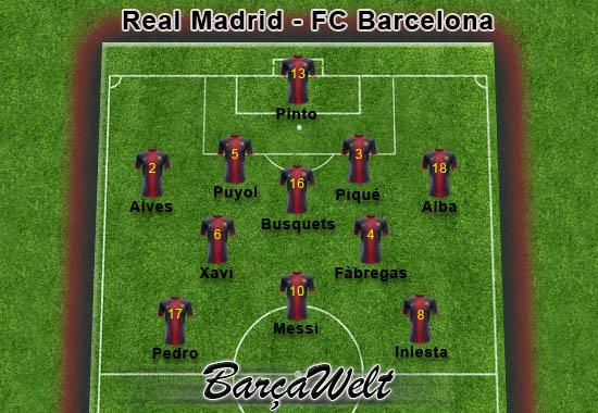 RealMadrid - FC Barcelona 30.01.2013