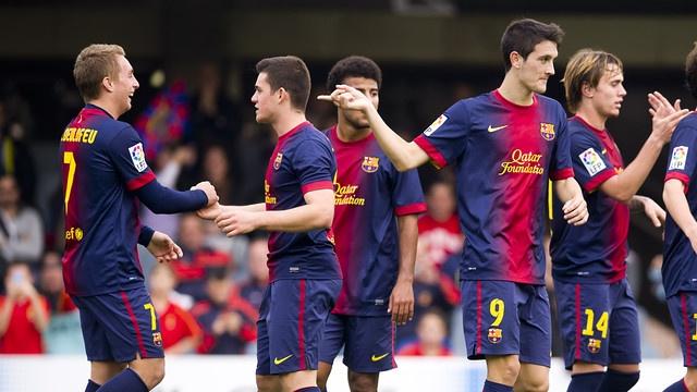 Barcelona B-Real Santander