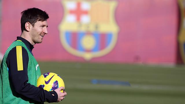 Lionel Messi steht im Kader