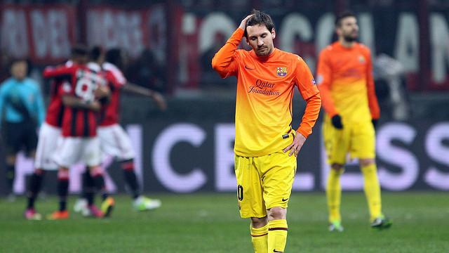 Messi-Frust Milan