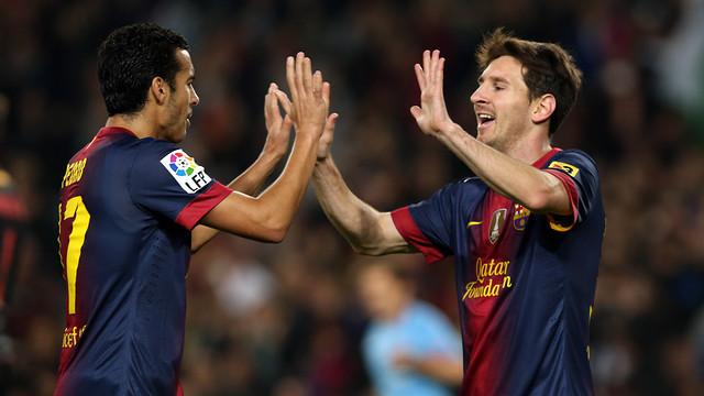 Messi und Pedro