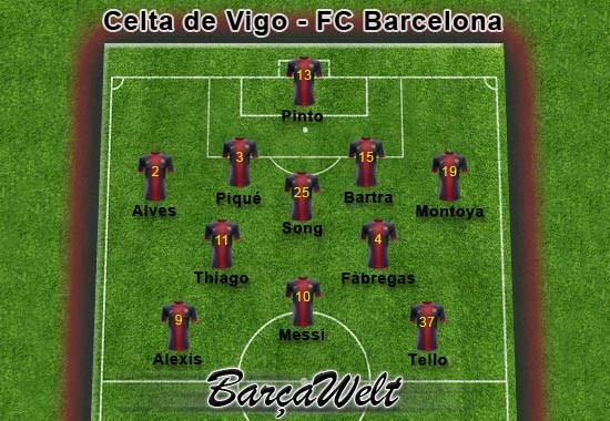Celta de Vigo - FC Barcelona 30.03.2013