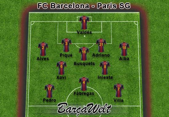 FC Barcelona - Paris SG 10.04.2013