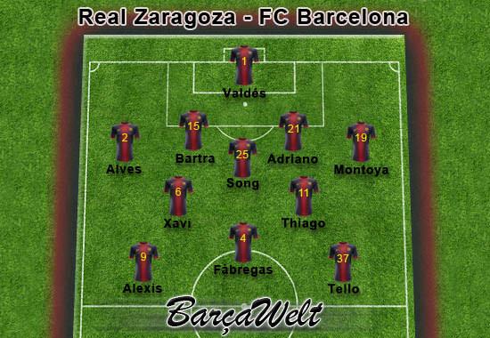 Real Zaragoza - FC Barcelona 14.04.2013