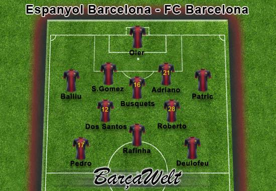 Espanol Barcelona - FC Barcelona 29.05.2013