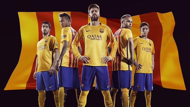 FC Barcelona Trikot Auswaerts