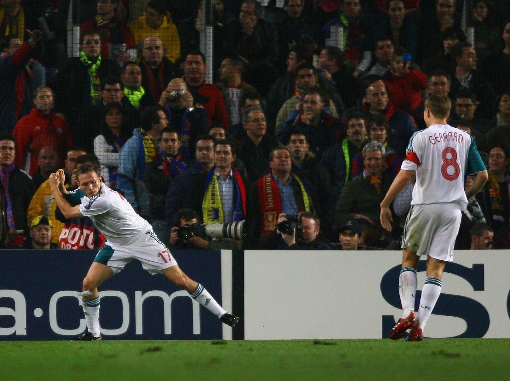 Bellamy Champions League Barcelona v Liverpool 1556572388