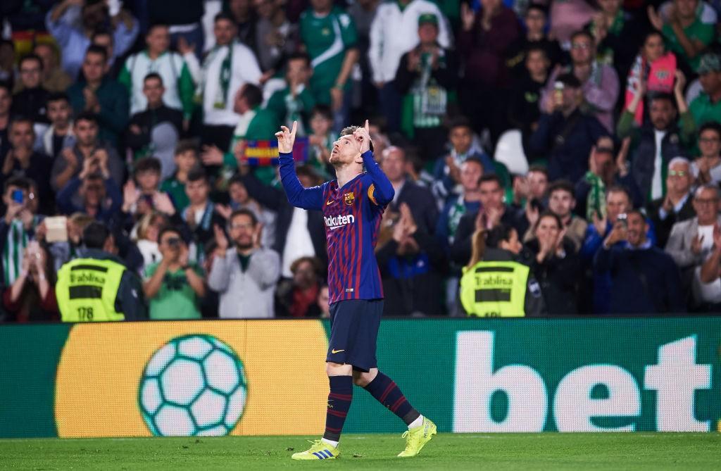 Messi Real Betis Balompie v FC Barcelona La Liga 1559850621