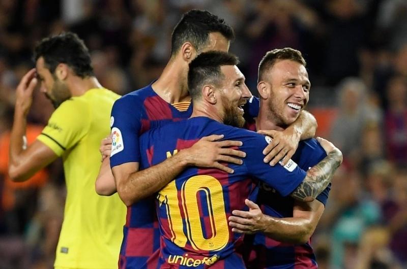 LLUIS GENE/AFP/Getty Images Sport