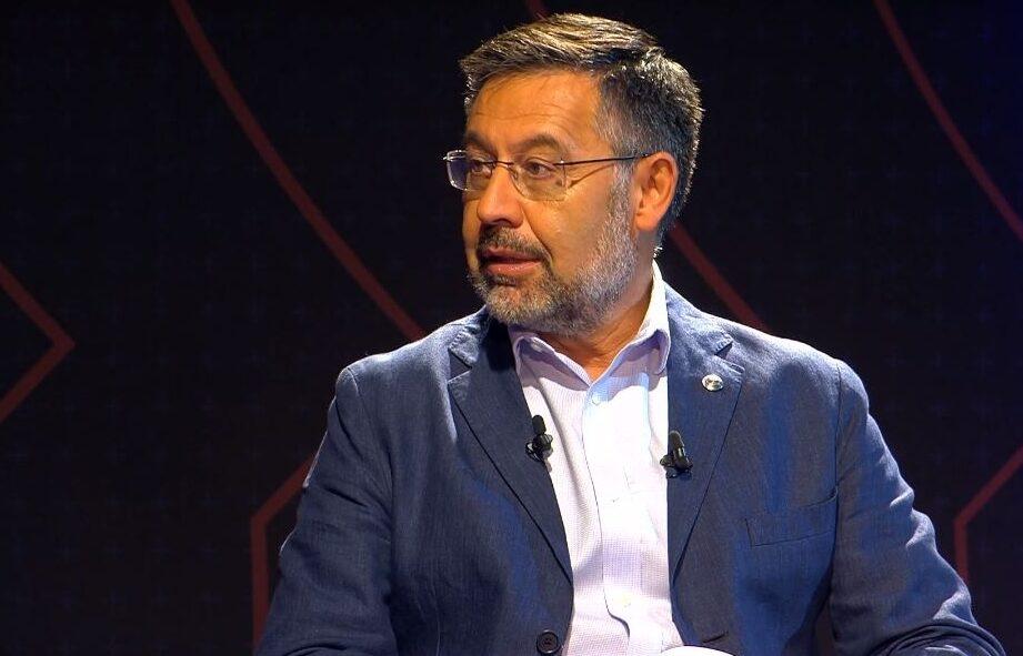 Wehrt sich gegen die Vorwürfe von Laporta und Co: Ex-Barça-Präsident Josep Maria Bartomeu. -