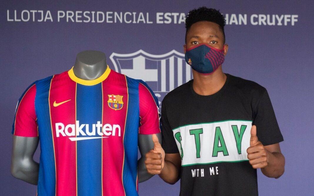 Víctor Salgado - FC Barcelona DESCARGAR IMAGEN