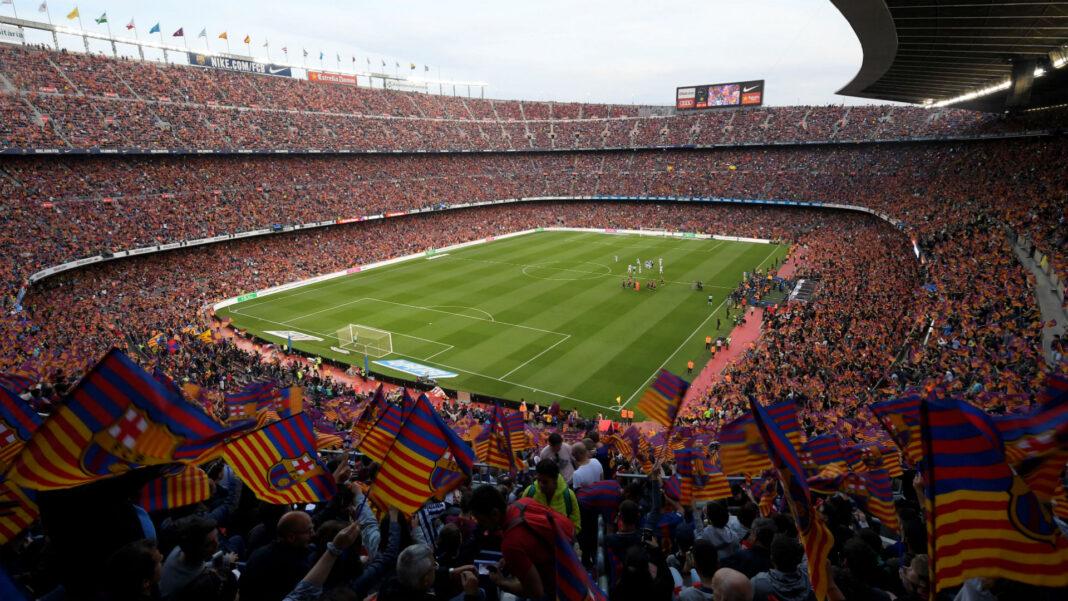 Das Camp Nou des FC Barcelona