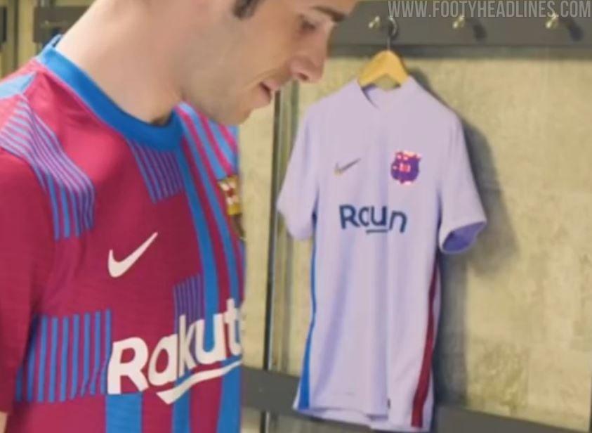 Barcelona Away Shirt Leak