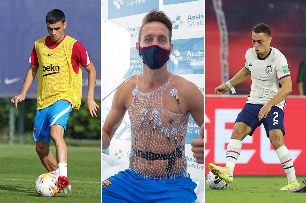 Víctor Salgado, Miguel Ruiz/FC Barcelona/USMNT
