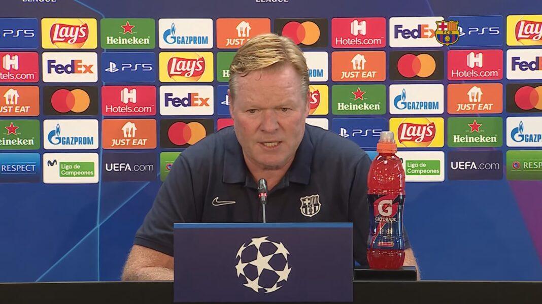 Ronald Koeman Champions League Pressekonferenz