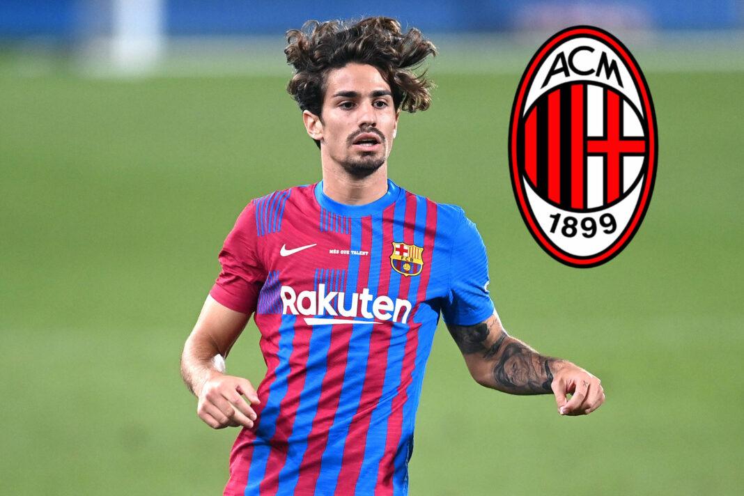 Alex Collado könnte den FC Barcelona verlassen und zur AC Milan wechseln.